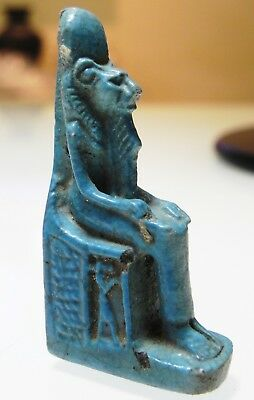 Zurqieh - As10023- Ancient Egypt. Nice Faience Sekhmet Amulet. 600 - 300 B.c