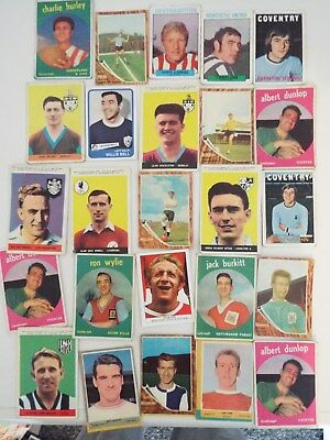 A&BC Cards Footballers Mixed Cards x 25 Cards See Picture Lot 30