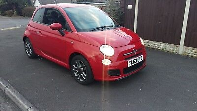 2013 63 Fiat 500 S  Damaged Repairable Salvage