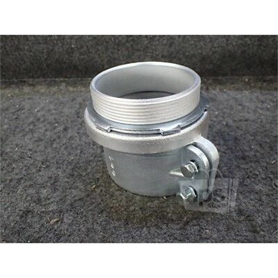 """Eaton 722 Crouse-Hinds Squeeze Connector, 4"""", Iron"""