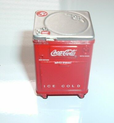 Vintage Coca Cola Miniature Steel Coke Machine Old Display Coke Advertisement
