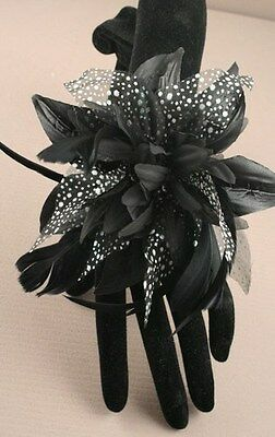 New Black Wrist Corsages Weddings, Bridesmaids Flower girls Hen Night Party's