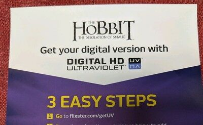 The Hobbit: The Desolation of Smaug DIGITAL HD ONLY (2014)