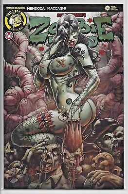 Zombie Tramp #55 The Death Of Zombie Tramp Artist Variant CVR C Action Lab NEW!!