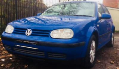 2002 Volkswagen Golf 1.6 Fsi - Petrol - Manual - Cheap - Blue