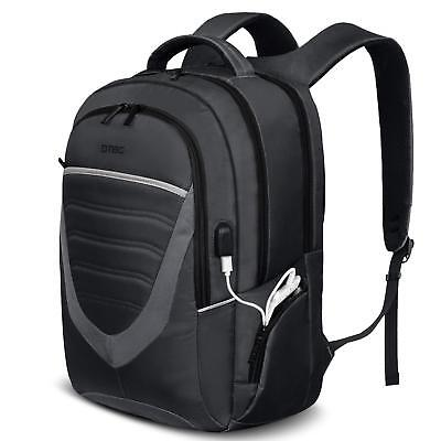 Laptop Backpack 17.3 Inch with USB Charging Port College Daypack School Bag