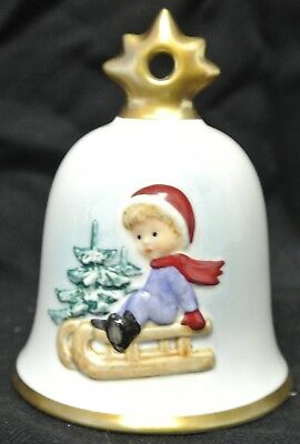 1995 Goebel Hummel Annual Christmas Bell Ornament No Box