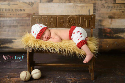 newborn Baby Photo Crochet Costume Photography Prop Outfit Girl Boy Knit Clothes