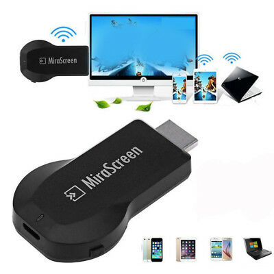 WiFi Display Wireless TV Dongle Receiver Video Player Media Airplay Miracast