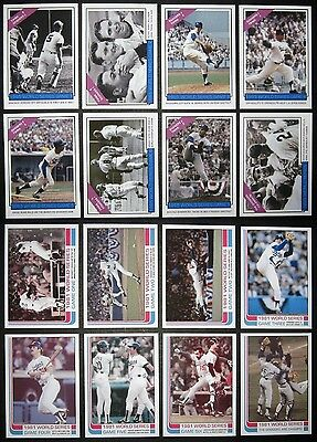 Free* Los Angeles Dodgers World Series Card Sets 1965 & 1981 Koufax Drysdale Cey