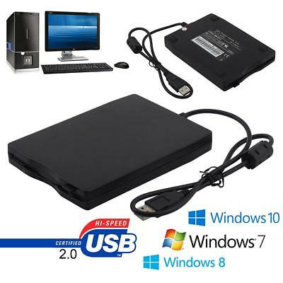 3.5″ USB 2.0 External Floppy Disk Drive 1.44MB For Win 7/8/10 HF *