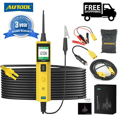 Autool BT260 OBD2 Auto Circuit Tester Electrical System LED Diagnostic Tool