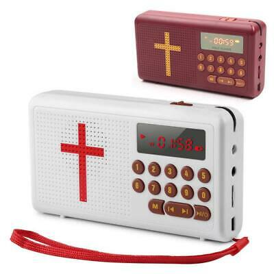 Rechargeable Audio Player Electronic Bible Talking King James- Version - English