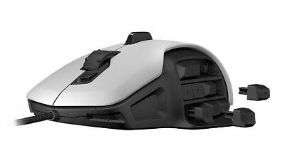 ROCCAT Nyth - Modular MMO USB Computer Gaming Mouse Maus Weiß 12000 DPI