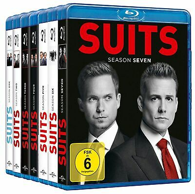 Suits - Die komplette Staffel 1+2+3+4+5+6+7 # 27-BLU-RAY-SET-NEU