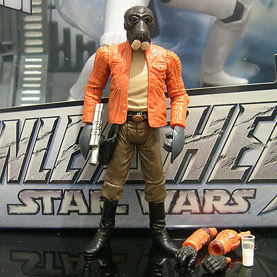 "STAR WARS the black series PONDA BABA walrus man ANH 3.75"" TBS Walmart"