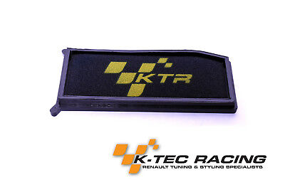 K-Tec Racing Clio 4 RS EDC200/220 Performance Panel Air Filter