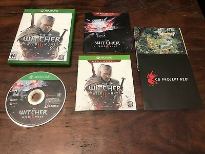 Witcher 3 III Wild Hunt (Xbox One) COMPLETE RPG Action Adventure MUST HAVE