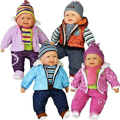 20 Inch Lifelike Size Large Happy Face Soft Bodied Baby Doll Girls Boys Play Toy