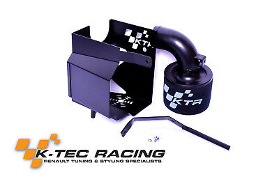 K-Tec Racing Megane 3 RS 250/265/275 Induction Kit Black