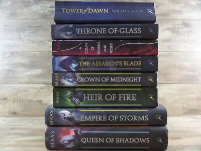 Throne Of Glass Series Collection 5 Books Set By Sarah J. Maas (Throne of Glass,