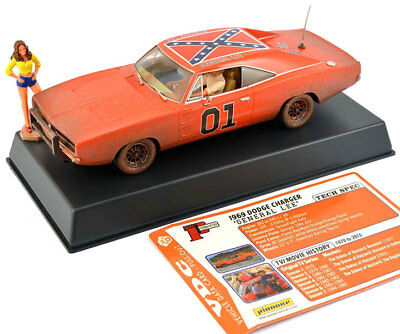 Pioneer Dodge Charger General Lee Dukes Of Hazzard Scalextric
