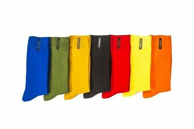 Fashion Mens Cotton Socks Solid Color British style Business Casual weekly Sock