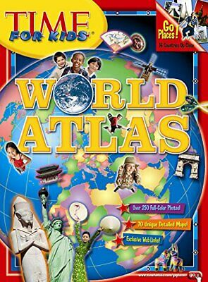 World Atlas 2008 (Time for Kids) by Editors of TIME for Kids Magazine Paperback