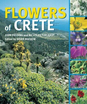 Flowers of Crete by Turland, Nicholas Hardback Book The Cheap Fast Free Post
