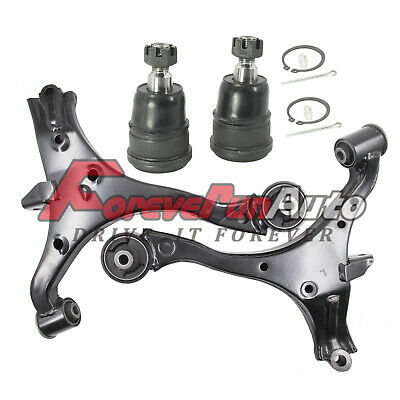4pc New Front Lower Control Arm & Ball Joint Kit for 01-05 Civic Coupe Sedan