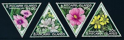 1998 Pitcairn Island Flowers Set Of 4 Fine Mint Mnh