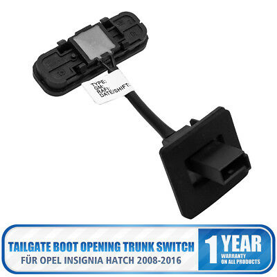 Tailgate Boot Opening Trunk Switch Fit Vauxhall Insignia Hatch 08-16 13422268