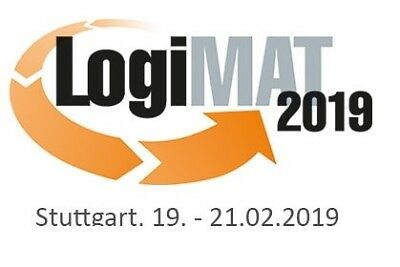 LOGIMAT Stuttgart Tageskarte - Messe Ticket - 19.02.-21.02.2019 INTRALOGISTIK