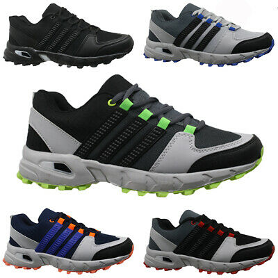 Mens Casual Shock Absorbing Fitness Running Walking Sports Shoes Trainers Size