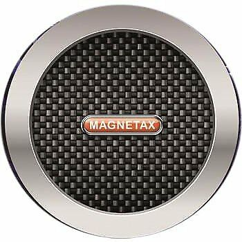 X2 Carbon black Magnetic Car Tax Disc Holder for all cars windscreen -SALE