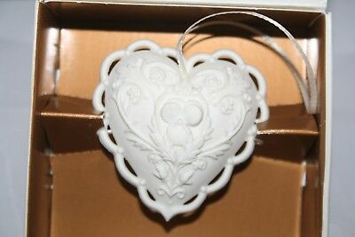 Margaret Furlong Christmas Ornament From the Heart 1997  EUC boxed