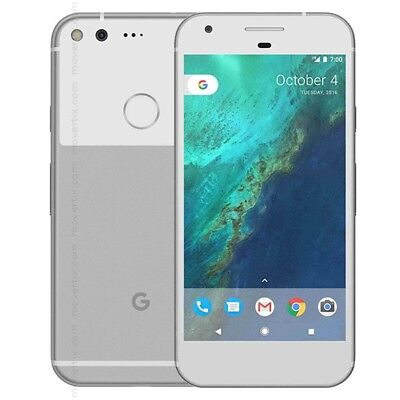 New Overstock Google Pixel XL 128GB  Silver GSM Unlocked for ATT and T-Mobile