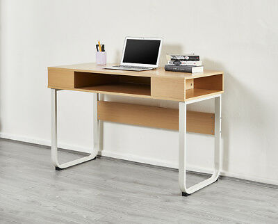 Computer PC Table Home Storage Shelf Office Study Desk Black or Beech - Cheap