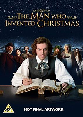 The Man Who Invented Christmas [DVD] [2017] -  CD 1HVG The Fast Free Shipping
