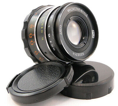 ⭐PERFECT Con.⭐ INDUSTAR-61 LD 50mm f/2 Lens E-Mount Sony A 7 7R 7S II III IV A9
