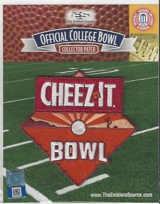 2018 Cheez-it Cheezit Bowl Patch California TCU Offical NCAA Jersey Logo