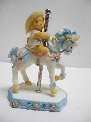 Cherished Teddies Carousel Virginia #506206 Its So Merry Going Round With You