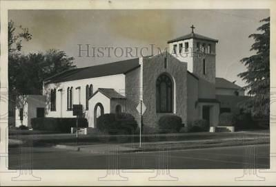 1957 Press Photo First Congregational Church In Wasco Has 50th Anniversary