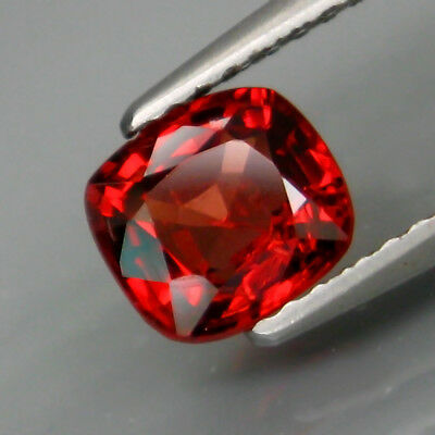1.20Ct.Very Good Color&Full Sparkling! Natural Red Spinel MaeSai,Thailand
