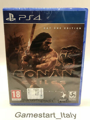 Conan Exiles Day One Edition Sony Ps4 - Nuovo Sigillato New Sealed Pal Version