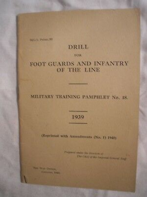 British army foot drill manual