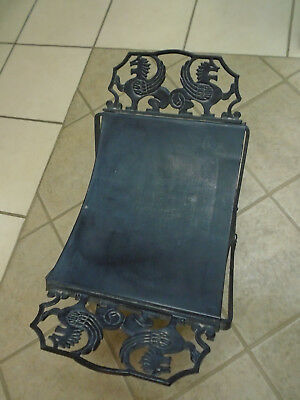 Antique Gothic Cast Iron Wall Mount Outside Porch Church