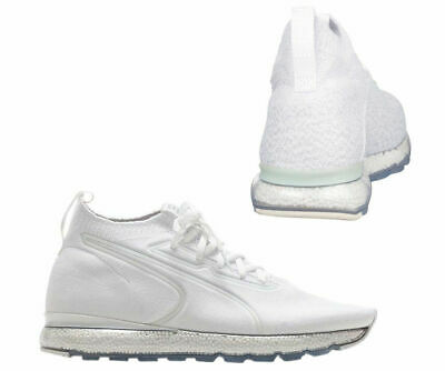8831660d7c9 PUMA JAMMING EVOKNIT Mens Lace Up Trainers Sock Style White 190629 06 D37