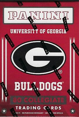 2015 Panini Univ. of Georgia Bulldogs Multi-Sport Trading Cards Blaster Box FS