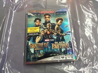 Black Panther   ( Blu-Ray +  Digital Code ) Brand New Sealed